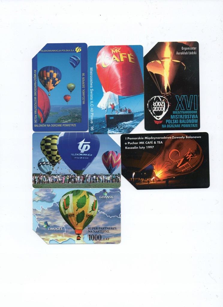 Karty magnetyczne-6szt.