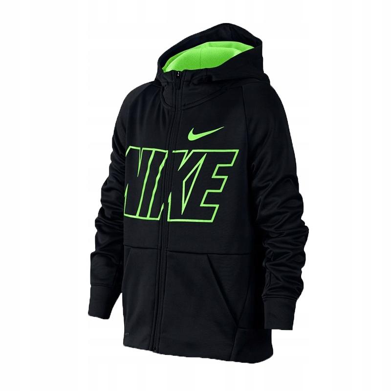Bluza Nike JR Therma Hoodie FZ GFX Junior 939851 013