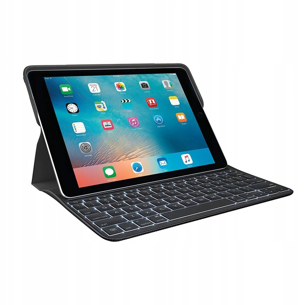 2 w 1 Etui Klawiatura Logitech do iPad Pro 9.7