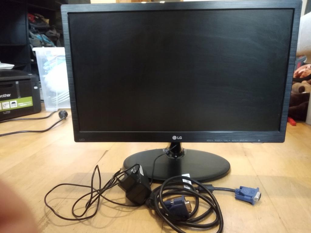 Monitor Lg 19 Cali 19 Calowy 18 5 19m38a 8285509141 Oficjalne Archiwum Allegro