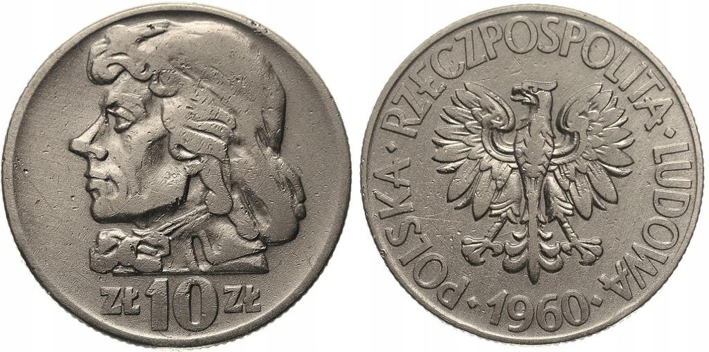 241.Polska - PRL - 10 zł Kościuszko -1960-St.2- #A
