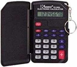 Kalkulator kieszonowy 8 cyfr brelok otwierana przy