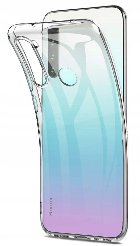 Etui do Xiaomi Redmi Note 8T CLEAR CASE + SZKŁO