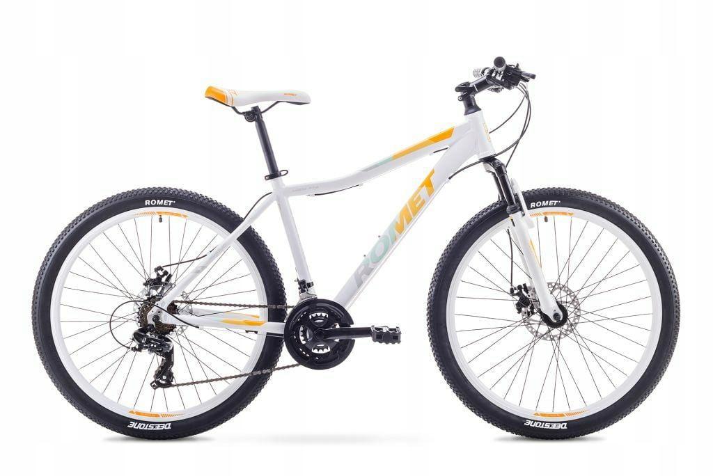Rower Górski MTB ROMET Jolene 2.0 26. Biało-Pom R