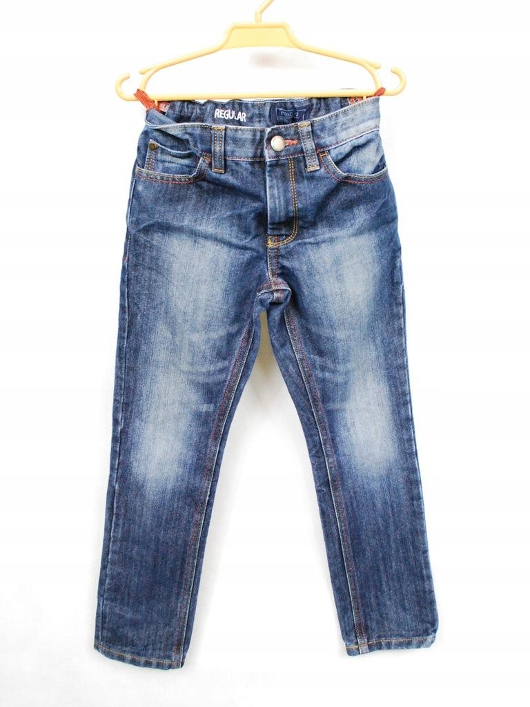Jeansy chłopięce NEXT 7lat