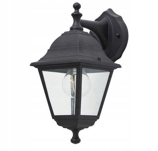 Lampa ogrodowa Argonne kinkiet czarny E27 60W IP44