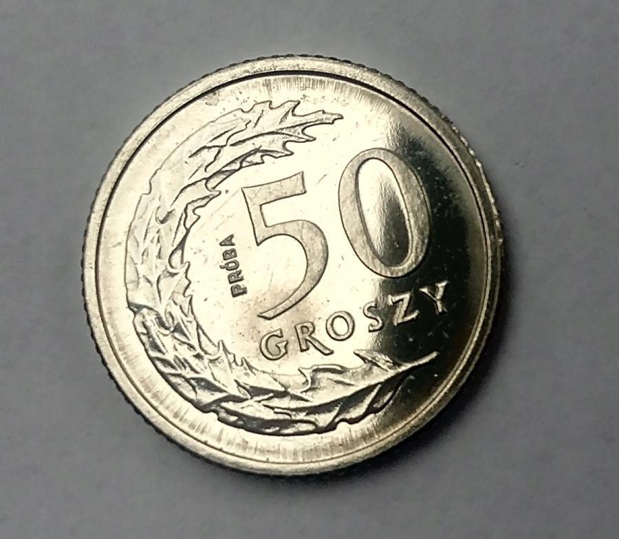 50 gr 1990, PRÓBA NIKIEL, III RP