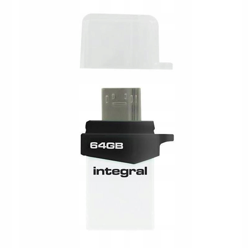 PODWÓJNY PENDRIVE USB 3.0 I MICRO USB OTG 64 GB