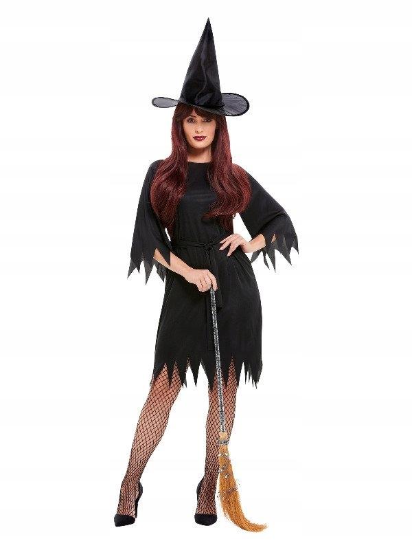 Strój strasznej czarownicy S, czarownica halloween