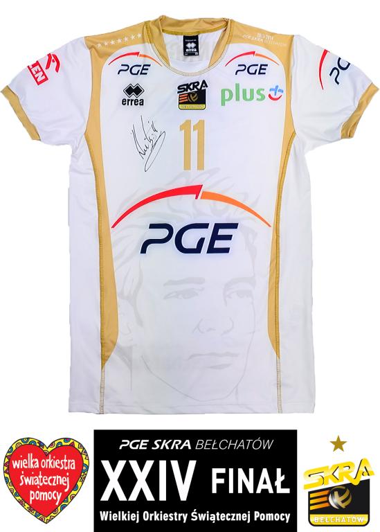 Koszulka meczowa Stephane'a Antigi - PGE Skra
