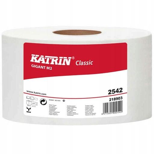 Papier toaletowy KATRIN CLASSIC Gigant M 2 biały