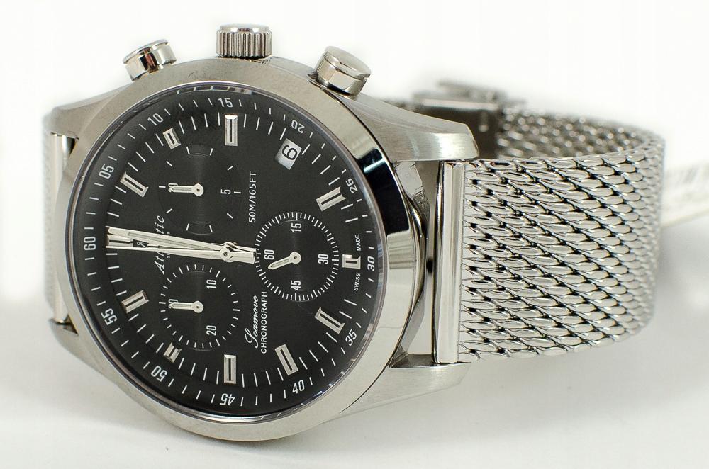 Zegarek Męski Atlantic 65456.41.61 - WYPRZEDAŻ