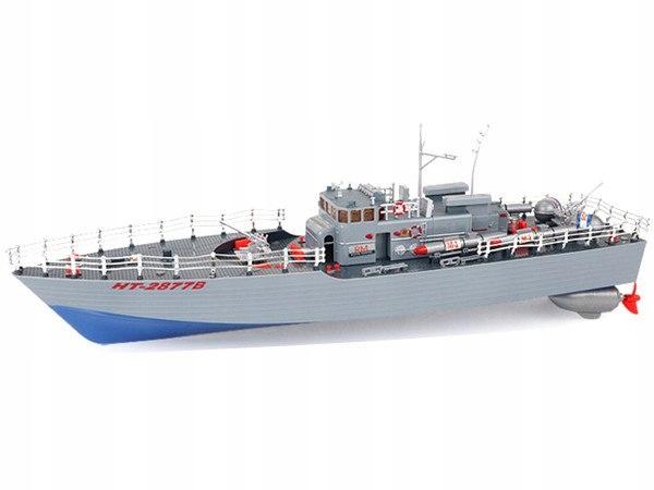 Kuter torpedowy 1:115 2.4GHz RTR - niebieski