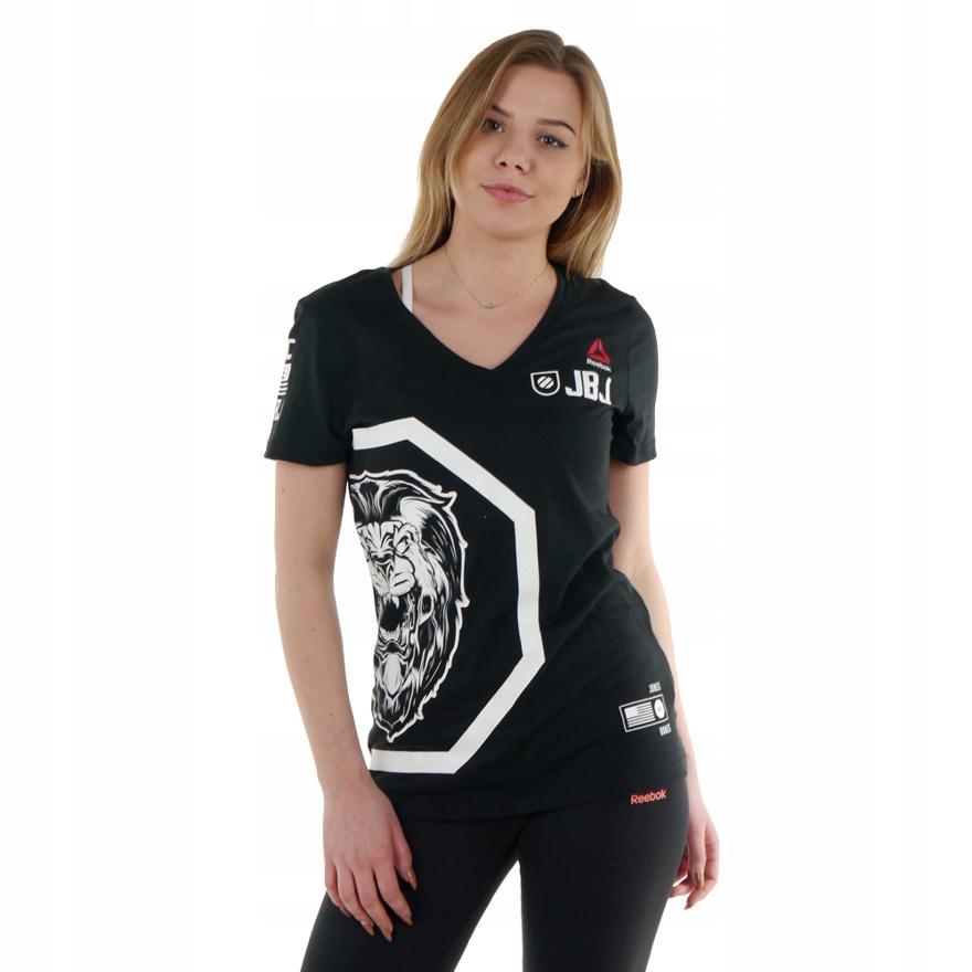 Koszulka Reebok Combat UFC damska bawełna S