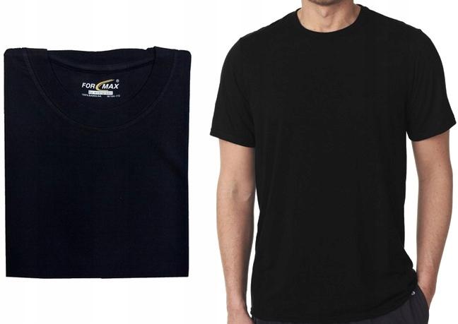 XXXL- CZARNY t-shirt podkoszulka FORMAX - 3XL