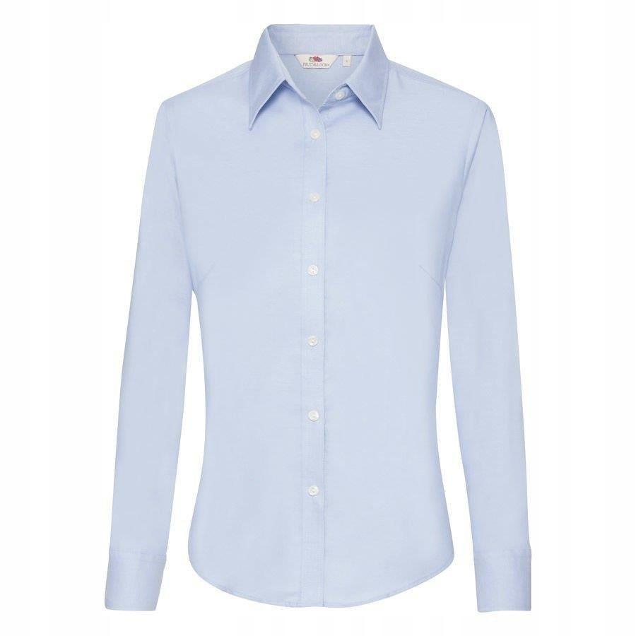 DAMSKA koszula OXFORD LONG FRUIT błękit 3XL