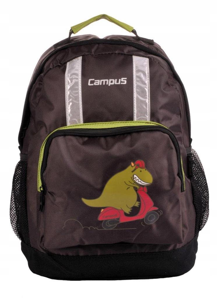 Plecak CAMPUS MOMO 15 L brązowy/zielony