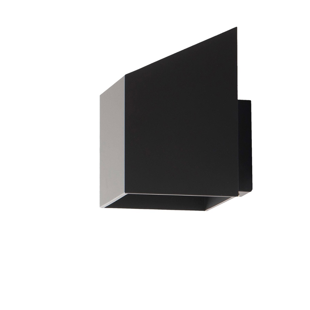 Kinkiet Rubik krótki Lampex czarny