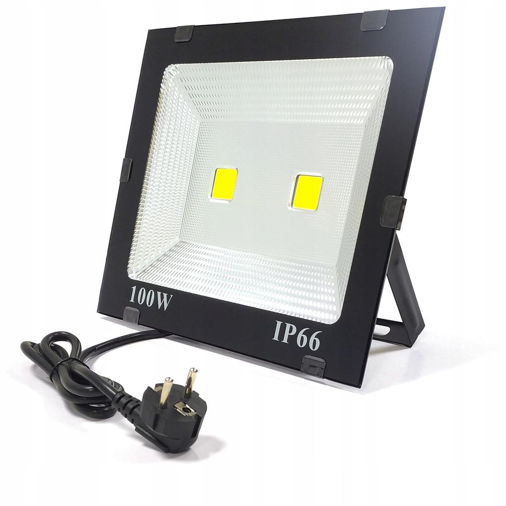 HALOGEN 100W 6000K 8020LM ZIMNY REFLEKTOR LED IP66