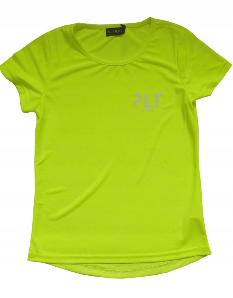 PLT neonowy t-shirt na siłownię do biegania XL 42