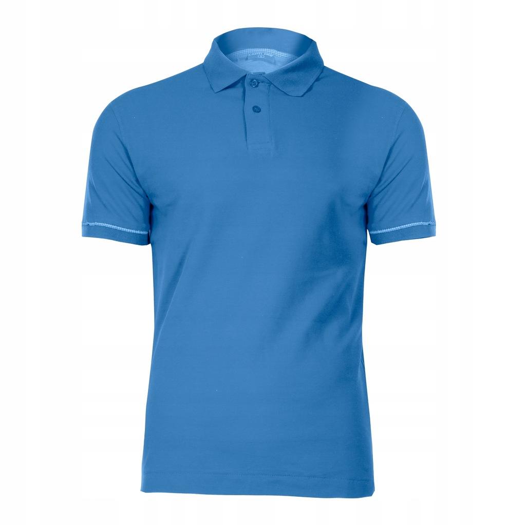 Polo niebieska bawełniana Lahti Pro L40304 3XL