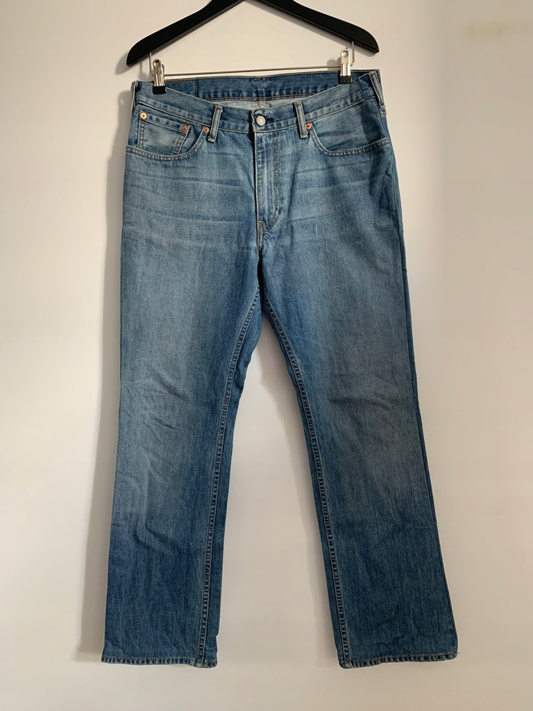 Jeansy spodnie klasyczne męskie markowe LEVI'S W33