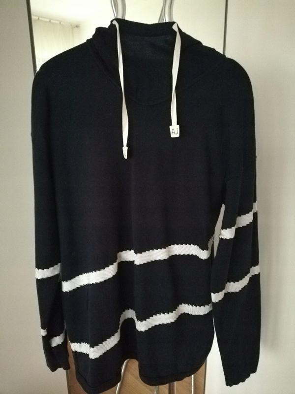 ARMANI bluza+ H&M -sweter -super zestaw-38/40