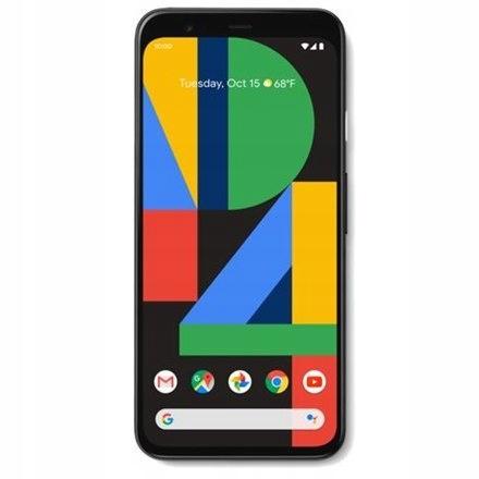 "Google Pixel 4 Black, 5.7 "", P-OLED, Single"