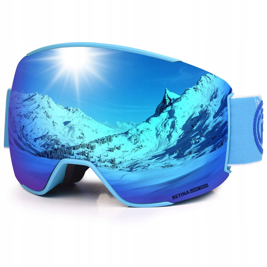 Szybka do gogli narciarskich Lemego
