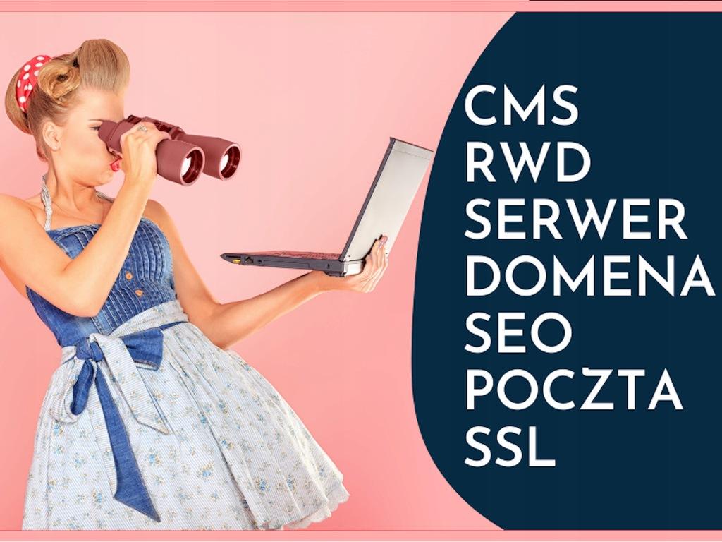 STRONA INTERNETOWA WWW +POZYCJONOWANIE RWD CMS SSL