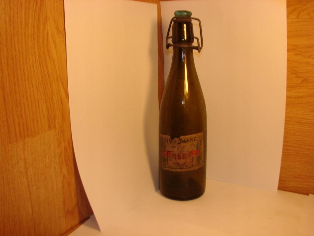 Browar Bydgoszcz-butelka,etykieta