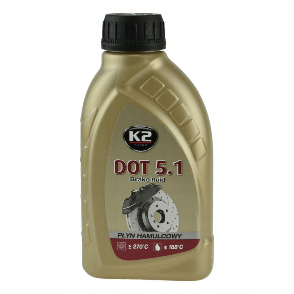 K2 DOT 5.1 PŁYN DOT-5.1 HAMULCOWY DOT5.1 500g