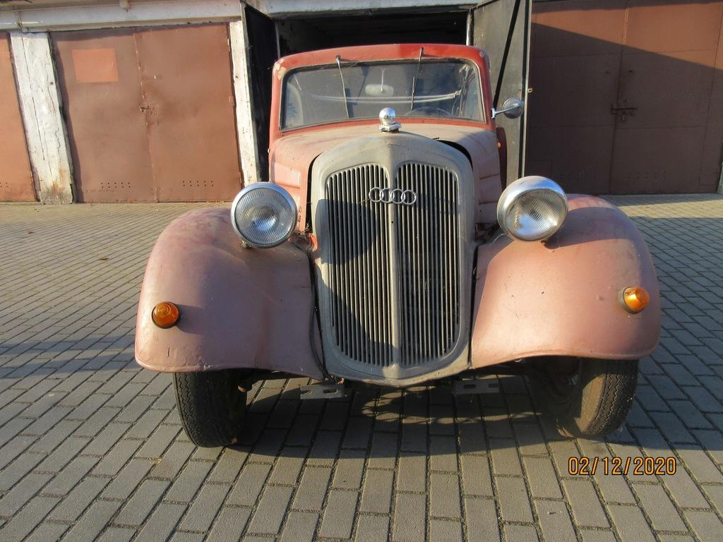 Audi DKW F8 lata-1934-39 baza do odrestaurowania