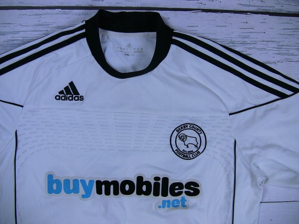 Adidas FC Derby County Koszulka L JAK NOWA !