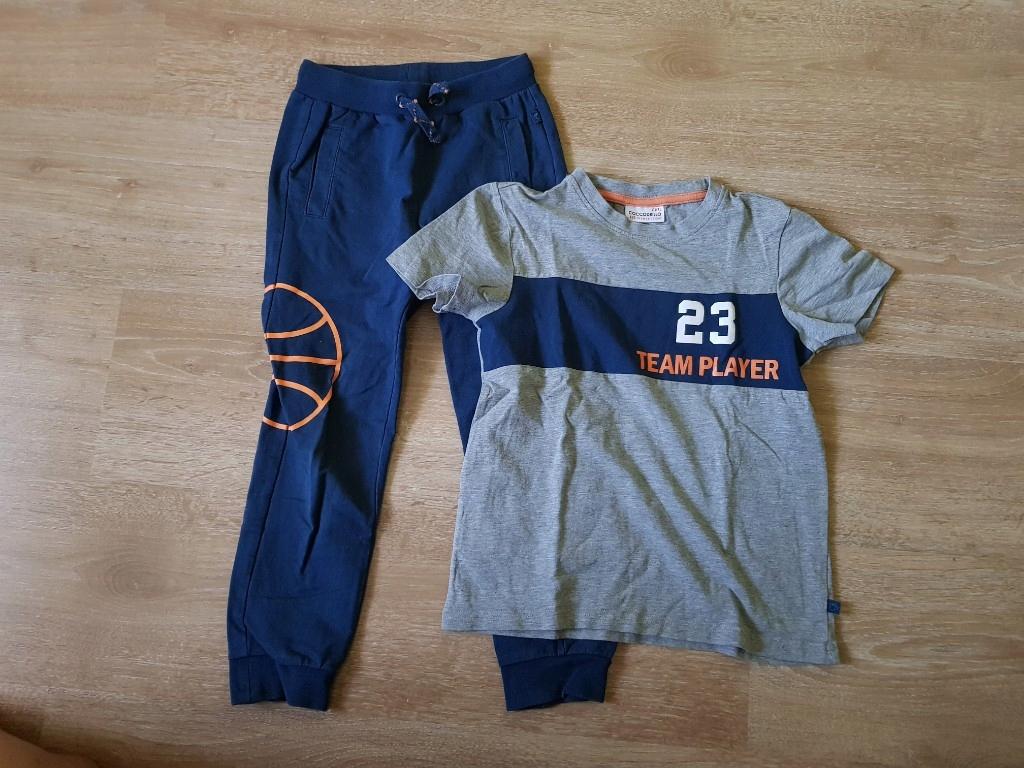 dres - spodnie i koszulka Coccodrillo roz.122