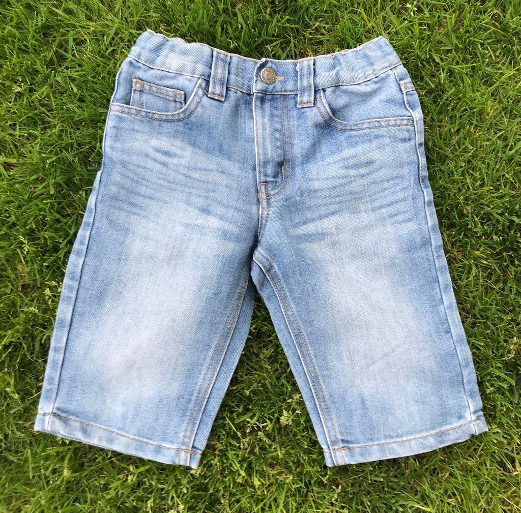 DENIMco Szorty jeansy chłopięce 116 SLIM LUPILU