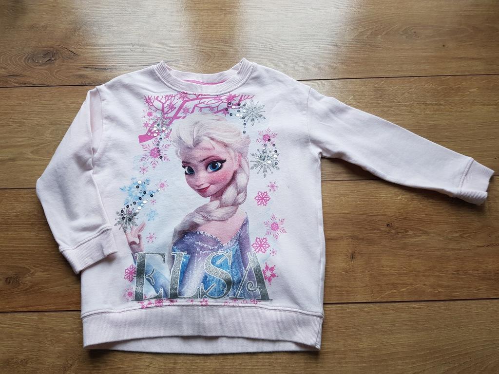 Next Frozen Elsa bluza bez kaptura 116 cm