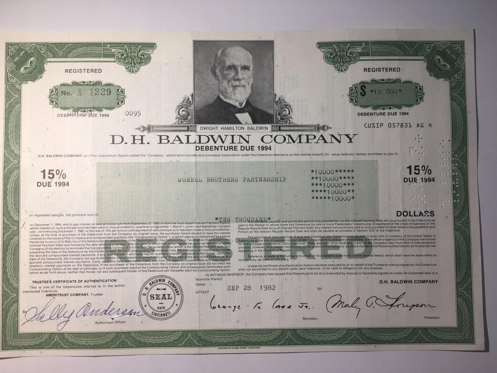 D.H. BALDWIN COMPANY