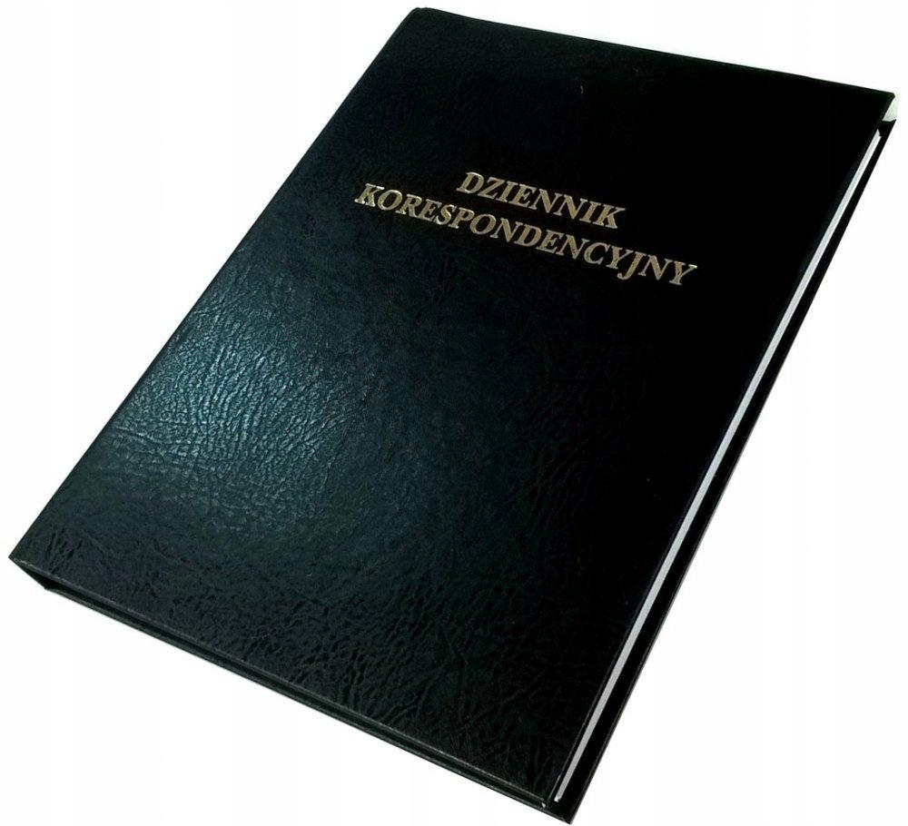 Dziennik korespondencyjny Barbara A4 192k czarny