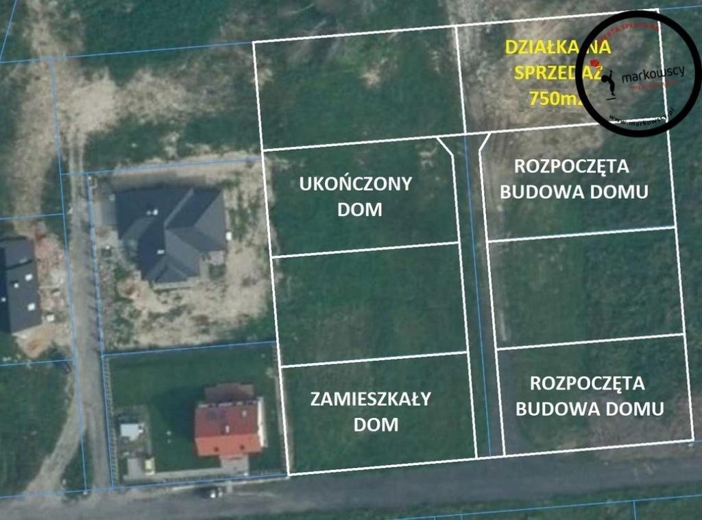 Działka, Dobra, Dobra (Szczecińska) (gm.)750 m²