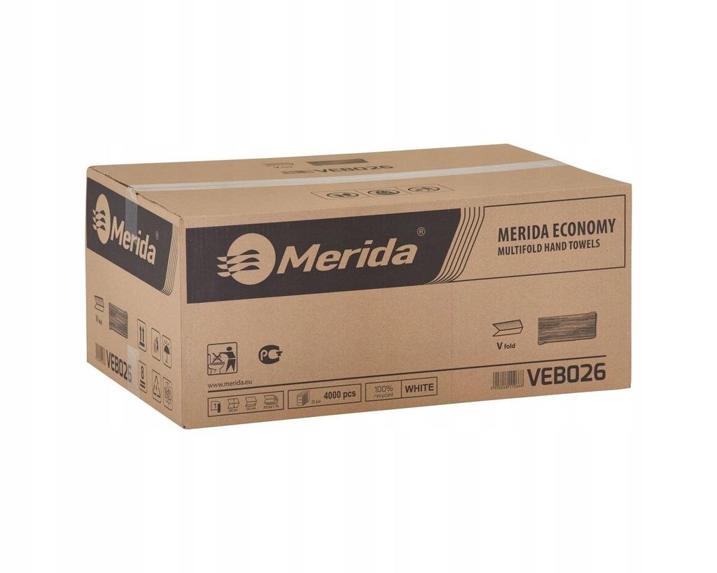 Ręczniki składane MERIDA ECONOMY 4000 szt. (PZ26)