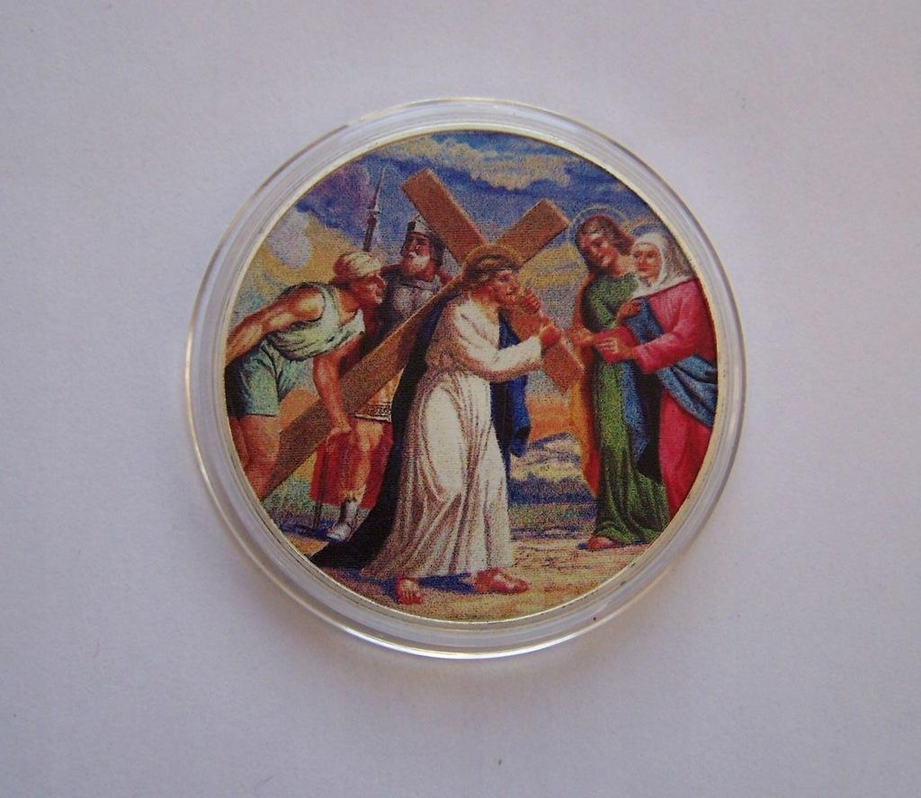 USA - Nowy Testament 5 - piękna posrebrzana