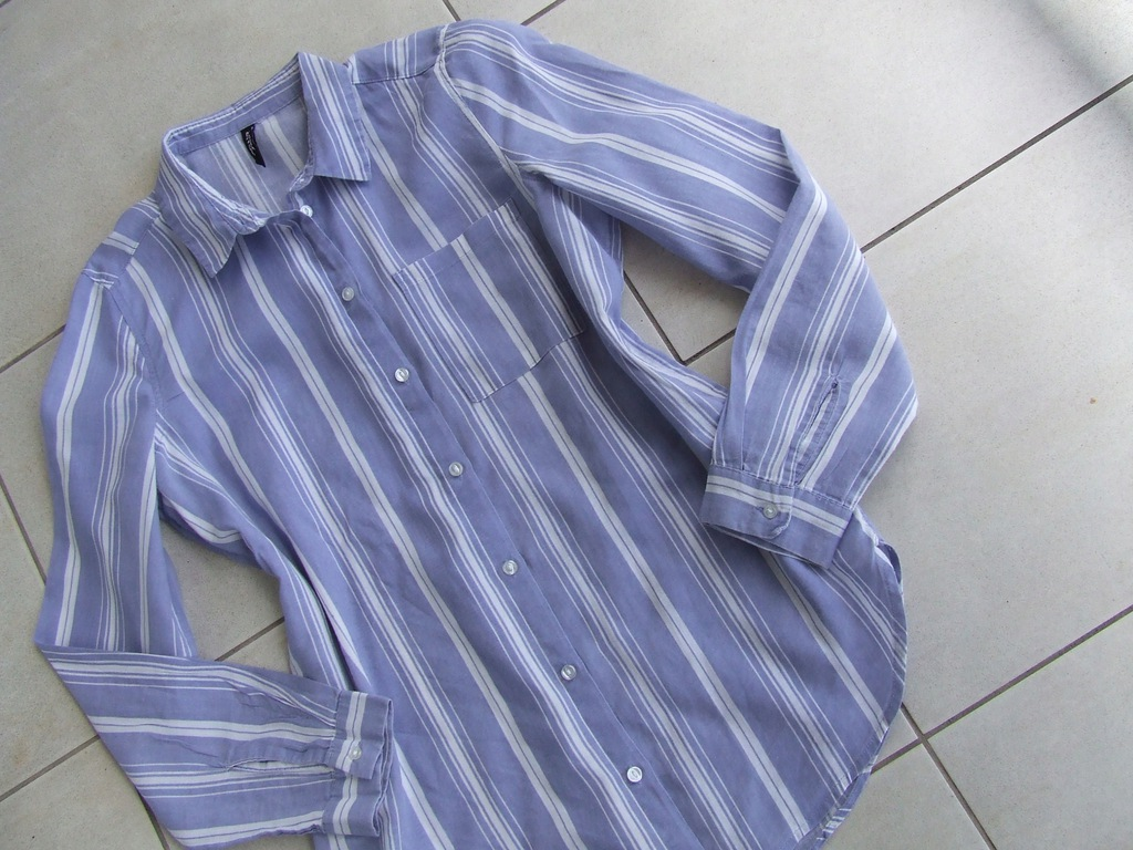 H&M śliczna przewiewna koszula 36/38 bawełna