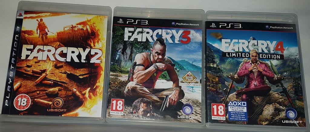 Ps3 Far Cry 2 3 Pl 4 Trylogia Wszystkie Gry 8687998183 Oficjalne Archiwum Allegro