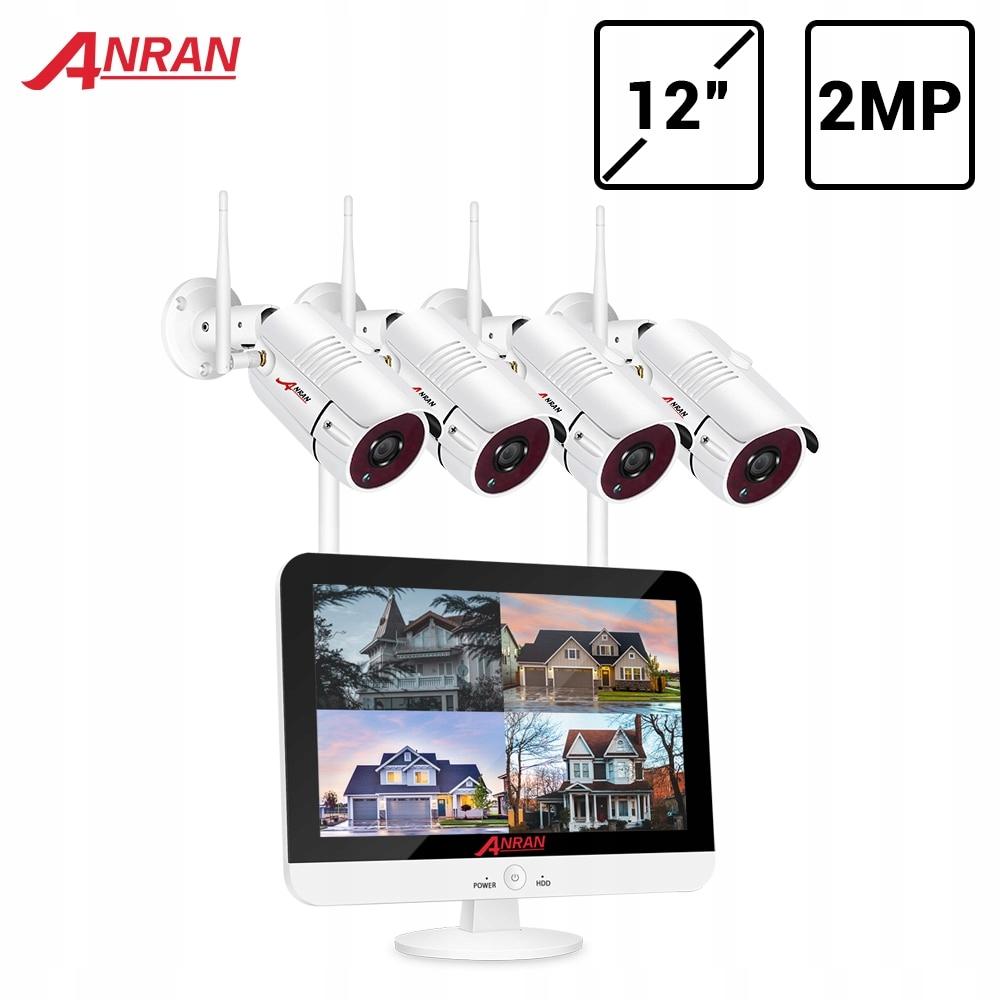 ANRAN wideo zestaw do nadzorowania 1080P WIFI