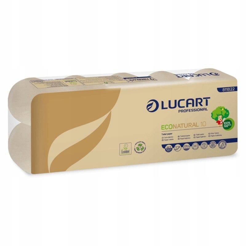 Ekologiczny papier toaletowy LUCART 10 rolek