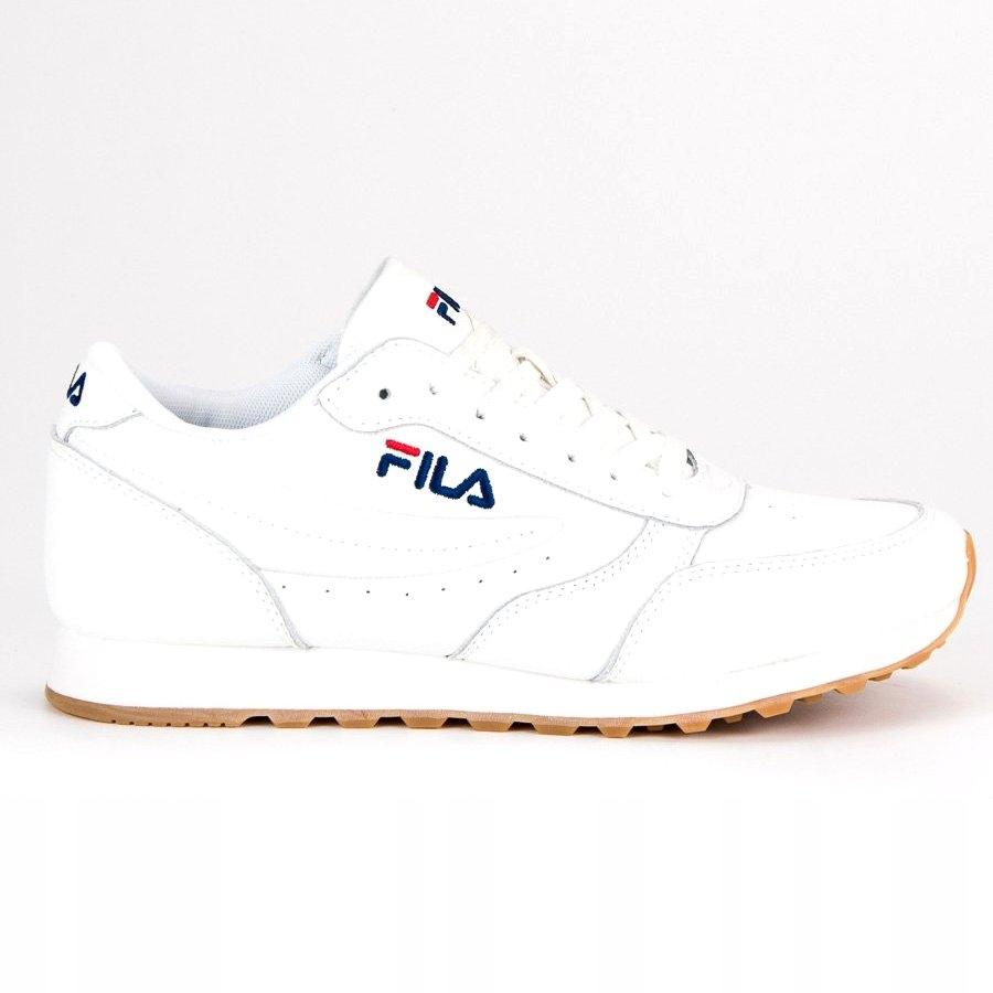 Białe Buty Męskie Sportowe Fila r.47