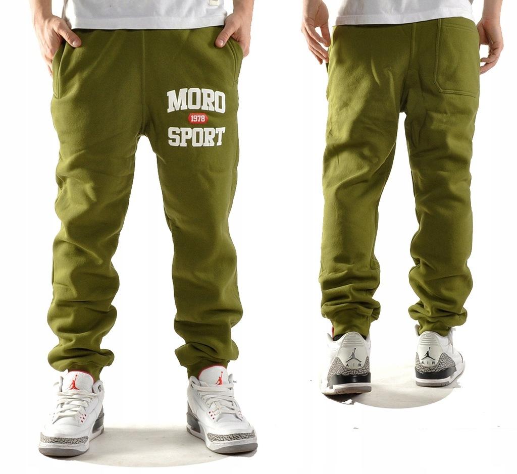 -30% Spodnie dresowe M MORO SPORT 1978 zielone