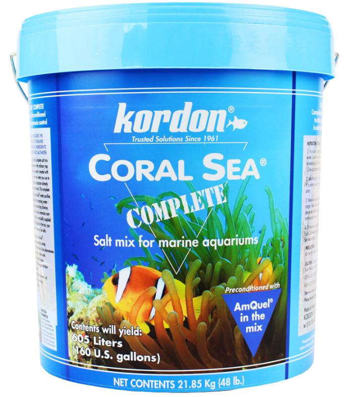 KORDON SÓL CORAL SEA COMPLETE Z AMQUEL'EM 21.85kg