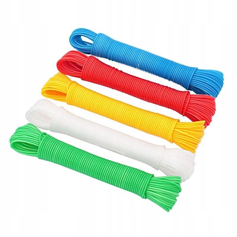 Linka do prania PE 20m mix kolorów